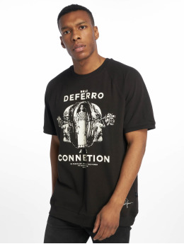 De Ferro T-Shirt T Connection schwarz
