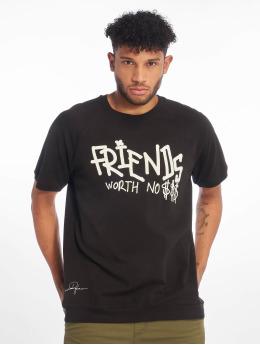 De Ferro t-shirt No Money T zwart