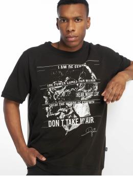 De Ferro T-Shirty T  czarny