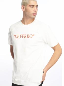 De Ferro T-skjorter Deferro Piece hvit