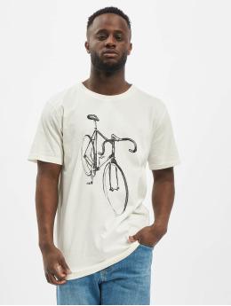 DEDICATED T-Shirt  weiß