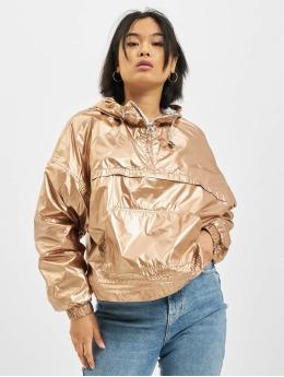 DEF Демисезонная куртка Glossy розовый
