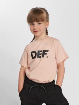 DEF Футболка Sizza розовый