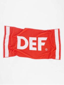 DEF Asciugamano Logo rosso