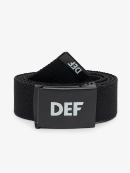 DEF Belt Canvas black