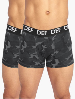 DEF Boksershorts 2er Pack camouflage