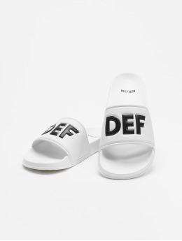 DEF Claquettes & Sandales Defiletten blanc