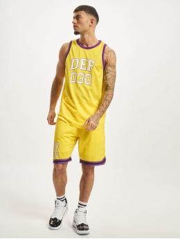 DEF Collegepuvut Basketball  keltainen