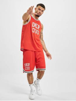 DEF Dresy Basketball czerwony