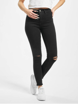 DEF High Waisted Jeans Alla zwart