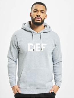 DEF Hoodie Til Death  grey