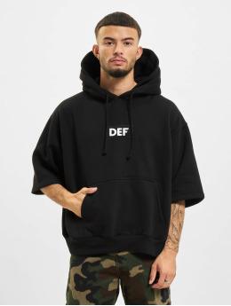 DEF Hoodie Short Sleeve  svart
