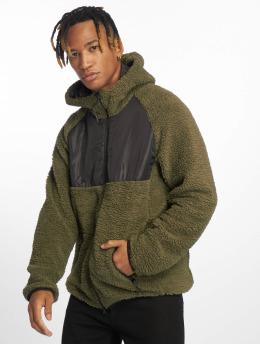 DEF Hoodies con zip Fargo  oliva