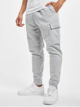 DEF Jogging kalhoty Denni  šedá