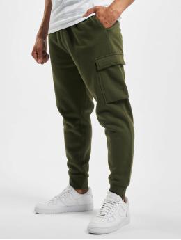 DEF Jogging kalhoty Denni  olivový