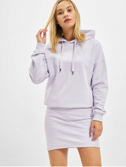 DEF Kleid Hoody violet