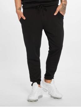 DEF Látkové kalhoty Chini čern