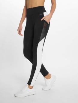 DEF Leggings/Treggings Stripes svart