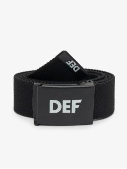DEF Pásky Canvas čern