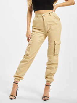DEF Pantalon cargo Ruby  beige