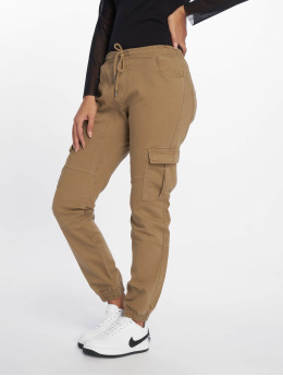 DEF Pantalone Cargo  Lea beige