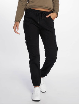 DEF Pantalone Cargo  Lea nero