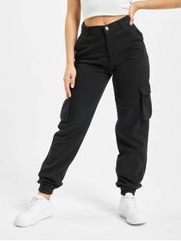 DEF Pantalone Cargo Ruby  nero