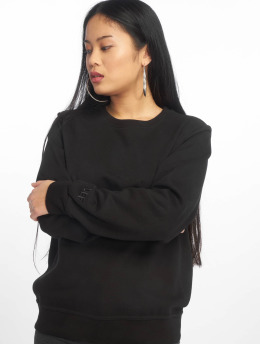DEF Pullover Basic schwarz