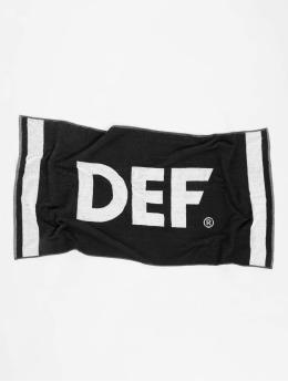 DEF Ręcznik Logo czarny