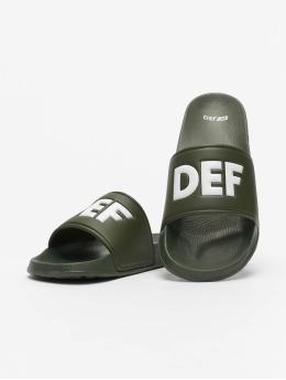 DEF Sandály Defiletten olivový