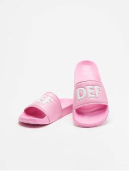 DEF Sandalen Defiletten pink
