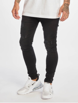 DEF Skinny jeans Rio zwart