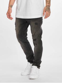 DEF Slim Fit -farkut Antoine musta