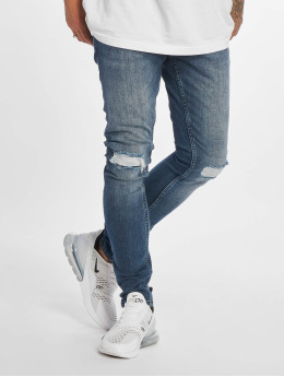 DEF Slim Fit Jeans Ramon blauw