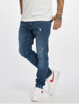 DEF Slim Fit Jeans Skom blue
