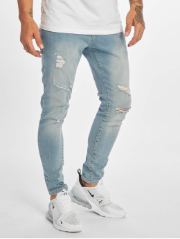 DEF Slim Fit Jeans Rio modrá