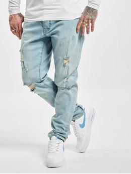 DEF Slim Fit Jeans Raul modrá