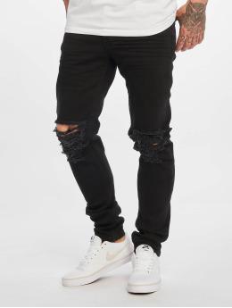 DEF Slim Fit Jeans Jonny zwart