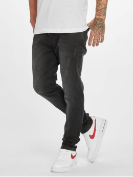 DEF Slim Fit Jeans Raven zwart