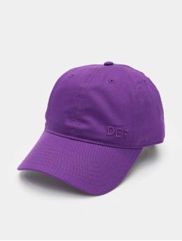 DEF Snapback Cap Daddy  violet