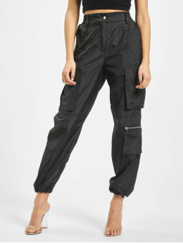 DEF Spodnie Chino/Cargo Mary czarny