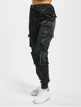 DEF Spodnie Chino/Cargo Nola czarny