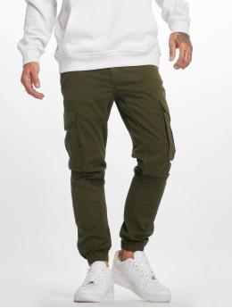 DEF Spodnie Chino/Cargo Aramis oliwkowy