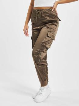 DEF Spodnie Chino/Cargo Nola oliwkowy