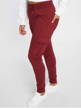 DEF Spodnie do joggingu Greta czerwony