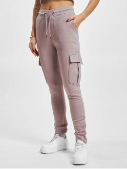DEF Spodnie do joggingu Greta fioletowy