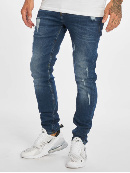 DEF Straight Fit Jeans Duon blau