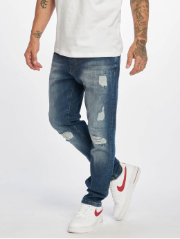 DEF Straight fit jeans Jay  blauw