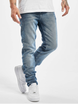 DEF Straight fit jeans Alfie blauw