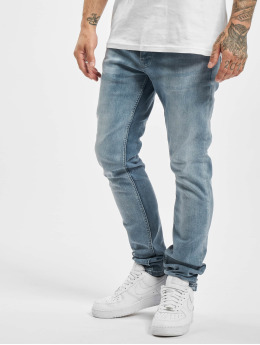 DEF Straight fit jeans Kai  blauw